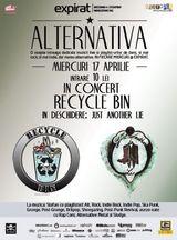 Concert Recycle Bin in Bucuresti pe 17 aprilie