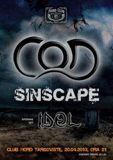 Concert IDOL si C.O.D. in Club Fiord pe 20 aprilie