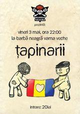 Concert Tapinarii in Vama Veche pe 3 mai