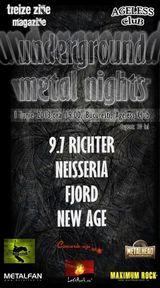 Concert 9.7. Richter si Neisseria pe 1 iunie la Ageless Club