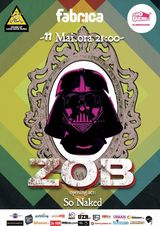 Concert ZOB pe 11 mai in Club Fabrica din Bucuresti