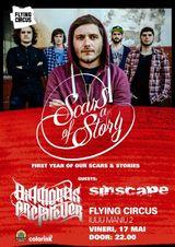 Concert aniversar Scars Of A Story la Cluj-Napoca
