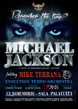 Mike Terrana va sustine un concert tribut Michael Jackson la Bucuresti pe 13 noiembrie