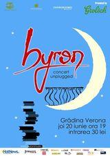 Concert acustic Byron la Gradina Verona din Bucuresti