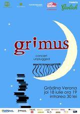 Concert acustic Grimus la Gradina Verona din Bucuresti