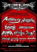 Romanian Thrash Metal Fest 2013 la Bucuresti: Concert Artillery