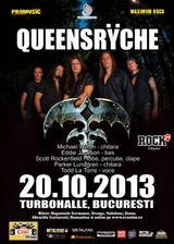 Concert Queensryche pe 20 octombrie la Bucuresti