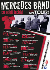 Concert Mercedes Band la Targul Mures in The Office Club, pe 26 Octombrie