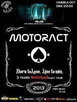 Concert Motoract la Cluj in Truda Pub, vineri 4 Octombrie