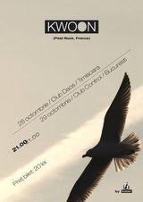 Concert KWOON la Bucuresti, in Club Control, Marti 29 Octombrie