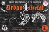 Urban Metal 4: Concert THWCF, Till Lungs Collapse si Walk The Abyss, la B52, pe 16 octombrie