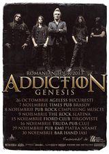 Concert Addiction la Piatra Neamt, in KM0, pe 29 Noiembrie