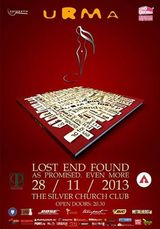 Urma - Lost End Found - concert de lansare pe 28 noiembrie la The Silver Church Club in Bucuresti