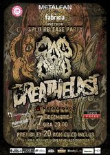 Concert Cap De Craniu si Breathelast: Lansare Split It Out in Fabrica pe 7 Decembrie