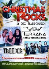 Christmas Rocks in Silver Church cu Trooper si Terrana band pe 16 decembrie in Silver Church