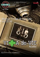 Concert Vita de Vie pe 11 decembrie, la The Tube
