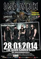 Concert Iced Earth la Silver Church din Bucuresti, pe 28 ianuarie, 2014