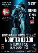 Concert Tiarra si Ad Hoc pe 17 decembrie la Silver Church
