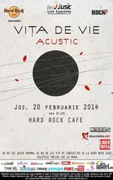 ANULAT - Concert Vita De Vie acustic la Hard Rock Cafe
