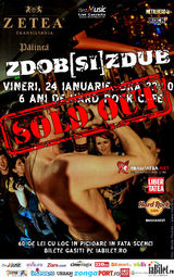 SOLD OUT - Concert ZDOB si ZDUB de Ziua Unirii - 6 ani de Hard Rock Cafe