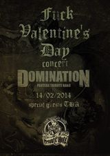 Concert Domination in Private Hell Club pe 14 februarie