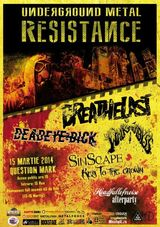 Key To The Crown, Sinscape si Breathelast la Underground Metal Resistance Fest 3