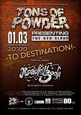 Concert Roadkillsoda si Tons Of Powder in Chisinau