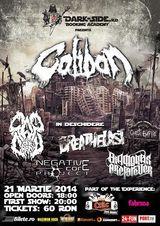 Concert Caliban pe 21 martie la Club Fabrica