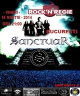Sanctuar : Concert in Rock'n'Regie din Bucuresti