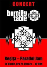 Burning Table @ Club Parallel Jam din Resita