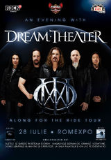 Concert Dream Theater in Romania la Romexpo pe 28 iulie