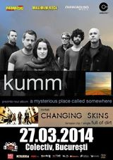 Concert Kumm si Changing Skins in club Colectiv