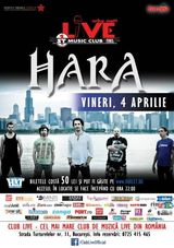 Concert Hara in Club Live din Bucuresti