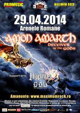 Concert Amon Amarth pe 29 aprilie la Bucuresti