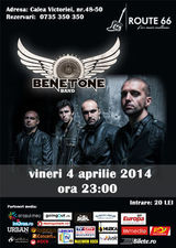 Concert Benetone Band in Club Route 66