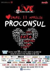 Concert Proconsul in Club Live