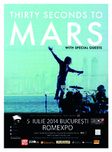 Concert 30 Seconds To Mars in iulie la Bucuresti