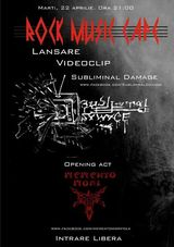 Subliminal Damage: lansarea videoclipului Programmed Extinction in Rock Music Cafe