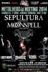 Sepultura, Moonspell si Arkona in Romania la METALHEAD Meeting 2014