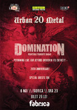 Domination vor canta integral albumul Pantera - Far Beyond Driven la Club Fabrica