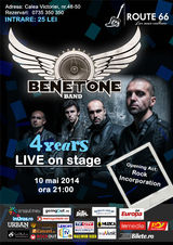 Concert Benetone Band in Route 66