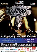 Concert Cargo pe 15 mai la Hard Rock Cafe