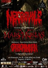 Concert Necrovile, Marchosias si Grossrinden in Club Abyss