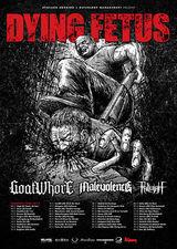 Dying Fetus, Goatwhore, Malevolence si Fallujah, in Brasov