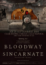 Bloodway si Sincarnate - concert special in Cluj!