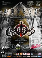 VUOLLA (Finlanda) si APOTHEOSES (RO) -  Metal Under Moonlight editia a 39-a!