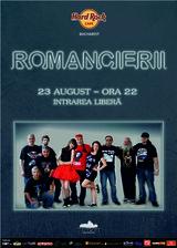 Concert Romancierii, in Hard Rock Cafe Bucuresti