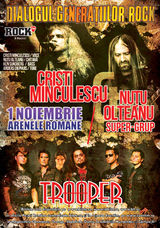 Concert Cristi Minculescu si Trooper la Arenele Romane