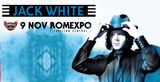 Jack White (White Stripes) in premiera in Romania