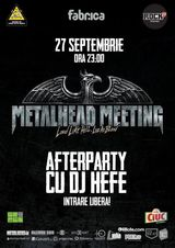 Metalhead Meeting AFTER-PARTY in club Fabrica